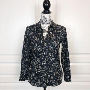 Isabel Marant Etoile Floral Button Down Shirt